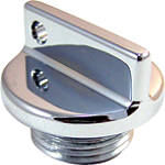 Yana Shiki Oil Cap - Chrome -  Dirt Bike Oil Filler and Drain Plugs