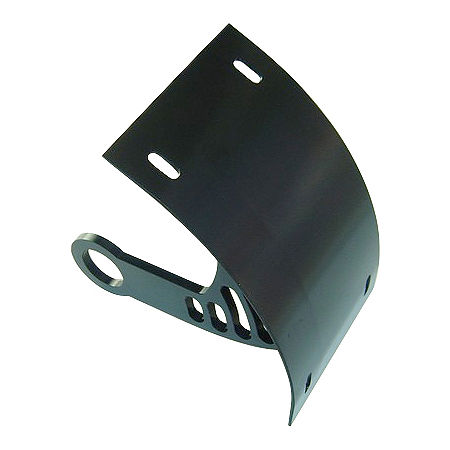 Yana Shiki Universal Axle Mount License Plate Bracket - Black - Main