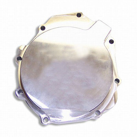 Yana Shiki Billet Stator Cover - Polished - Main
