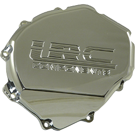 Yana Shiki LRC Engraved Billet Stator Cover - Chrome - Yana Shiki LRC Engraved Billet Stator Cover - Polished