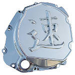 Ys Speed Kanji Clutch Cover -  Motorcycle Clutch Kits and Components