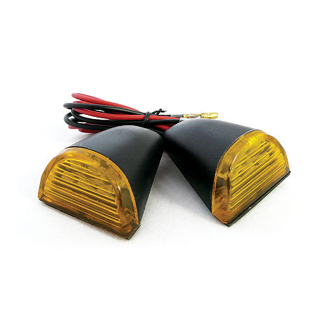 Yana Shiki LED Universal Flush Mount Turn Signals - Amber