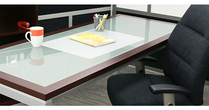 Now Trending: Glass Top Desks & Tables | NBF Blog