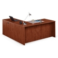 "Solutions Compact L-Desk with Right Return - 66""W, 10062"