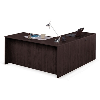 """Solutions Compact L-Desk with Left Return - 66""""W, 10063"""