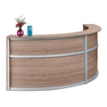 "Compass Double Reception Desk - 123""W x 48""D, 10140"