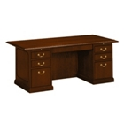 "Traditional Executive Desk - 72"" x 36"", 10583"