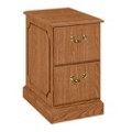 Traditional Two Drawer Vertical File, 10613