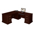 Traditional Executive L-Desk with Right Return, 10615