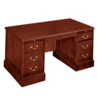 "Traditional Executive Desk - 60"" x 30"", 10744"