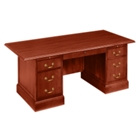 "Traditional Executive Desk - 72"" x 36"", 10745"