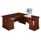 Traditional L-Desk with Right Return, 10752