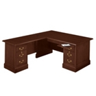 Traditional L-Desk with Left Return, 10753