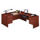 Executive L-Desk with Right Return, 10849