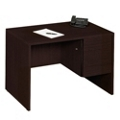 "45""W  Compact Single Pedestal Desk, 10968-1"