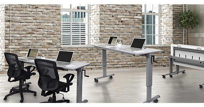 The Benefits of Adjustable Height Desks | NBF Blog