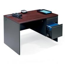 """Steel Single Pedestal Desk - 48"""" x 30"""", 11127"""