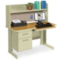 Single Workstation with Hutch, 11295