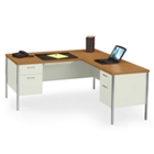 Steel L-Desk with Right Return, 11946