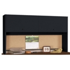 "Desk Mounted Hutch with Flipper Doors 60""W, 11962"