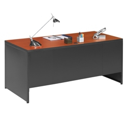 "66"" W Single Pedestal Desk, 12000"