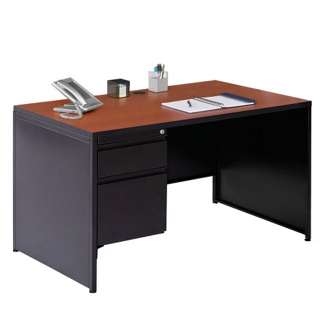 "48"" W Single Pedestal Desk, 12001"