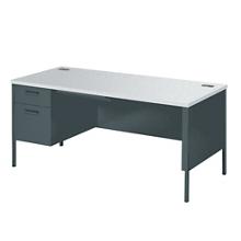 "Left Pedestal Desk - 66""Wx30""D, 12035"