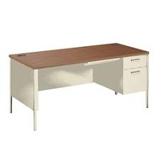 """Right Pedestal Desk - 66""""Wx30""""D, 12036"""