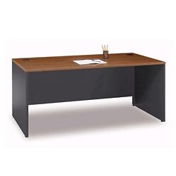 "Two Tone Desk Shell - 71""W, 13141"