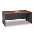 "Two Tone Desk Shell - 71""W, 13141"