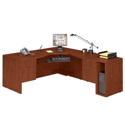 Angled L Desk Right Return, 13149
