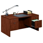 Compact Double Pedestal Desk, 13151