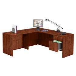 "Corner L Desk with Left Return - 71"" x 71"", 13156"