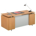 Executive Desk with Floating Top, 13728