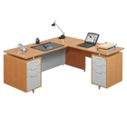 Flush-Top L-Desk, 13175