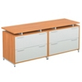 Double Lateral File Credenza, 13178