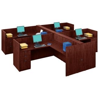 Four-Person Workstation Set, 13273