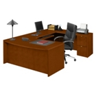Fairbanks Bowfront U-Desk, 13351