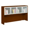 Fairbanks Four Door Hutch with Glass Doors, 13353