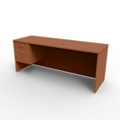 "Single Left Pedestal Credenza - 72""W x 24""D, 13660"
