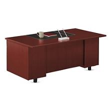 """Ascend Double Pedestal Executive Desk - 72""""W, 13850"""