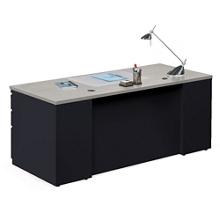 "Alloy Metal Executive Desk - 72""W, 13908"