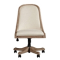 Armless Fabric Desk Chair, 55028