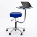 Vinyl Exam Stool with Tablet Arm, 50041