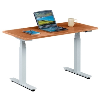 "Tabella Adjustable Height Table Desk - 48""W, 14162"