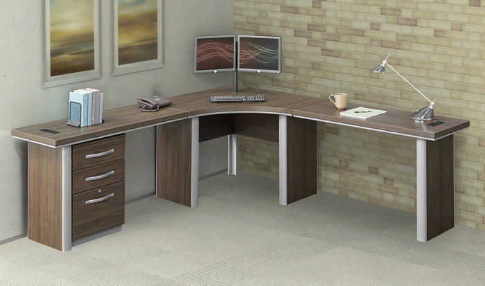 modern budget private office