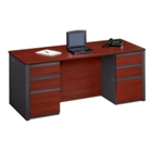 "Double Pedestal Executive Desk - 72"" x 30"", 15118"