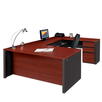 Contemporary Reversible U Desk 15120