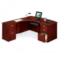 L-Desk with Left Return, 15161