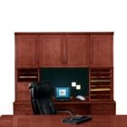 Executive Cherry Deluxe Hutch Without Molding, 15187